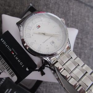 Tommy Hilfiger Men's Stainless Steel Watch NIB